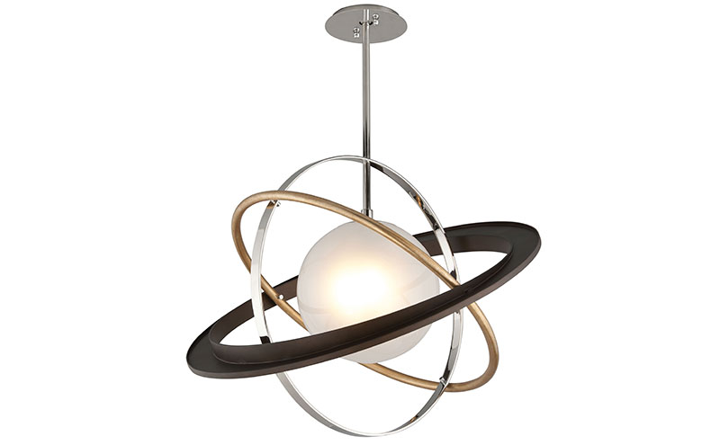 Troy Apogee pendant, from £324, Hudson Valley Lighting Group