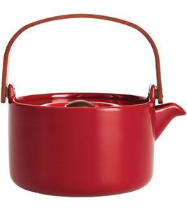 Marimekko red teapot, £75, Cloudberry Living