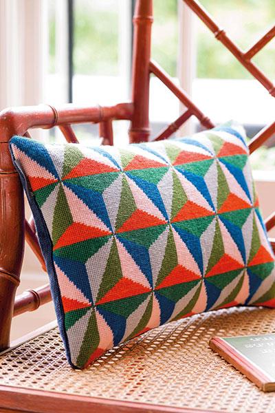 Pentreath-&-Hall-needlepoint-tetrahedron-designs