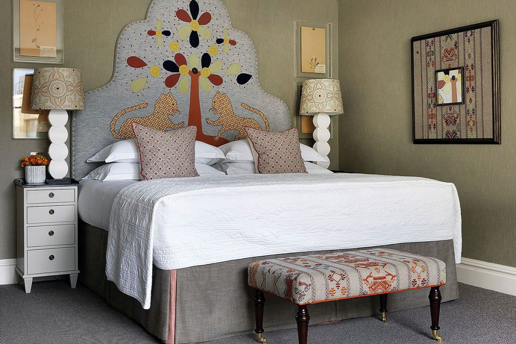embroidered-headboard-at-the-firmdale-hotel