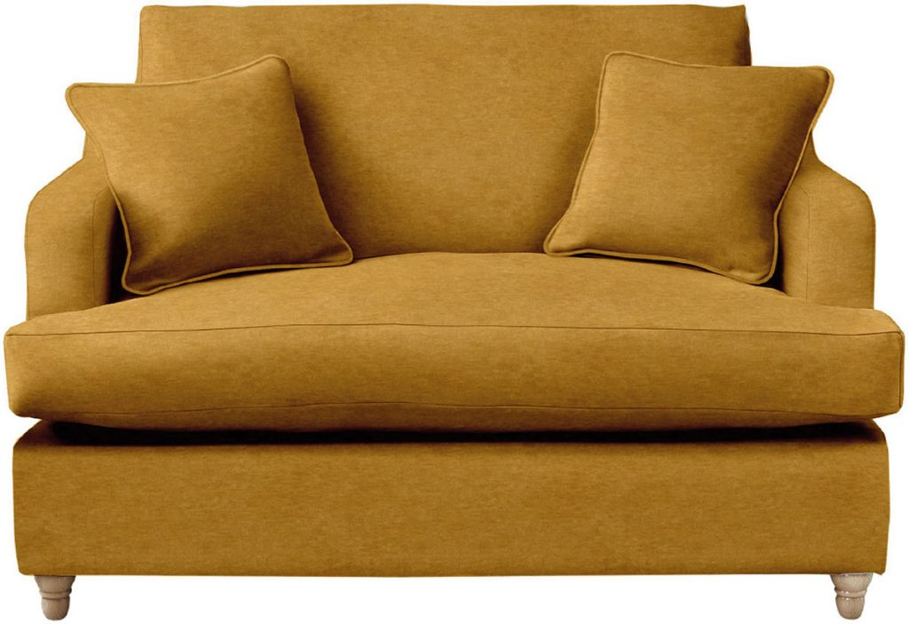Atworth-loveseat-in-mustard-Willow-&-Hall