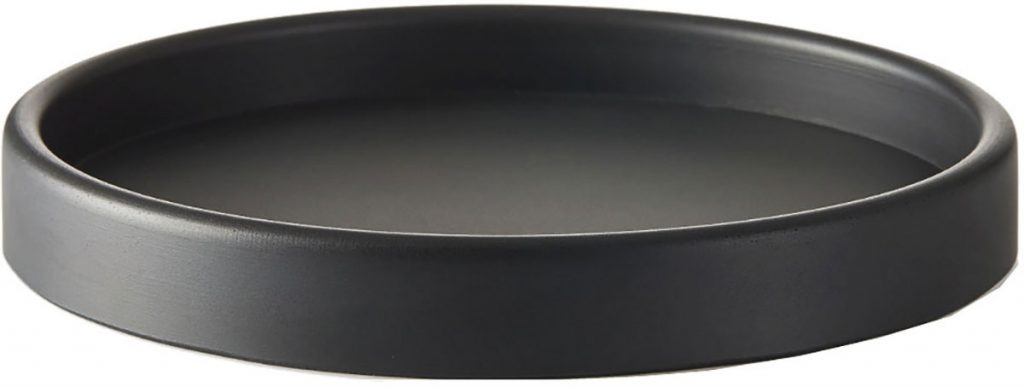 Large-round-tray-in-black-rubber-by-SEJ-Design-White-Black-Grey