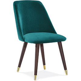 Primrose-dining-chair-in-teal-velvet-Cult-Furniture