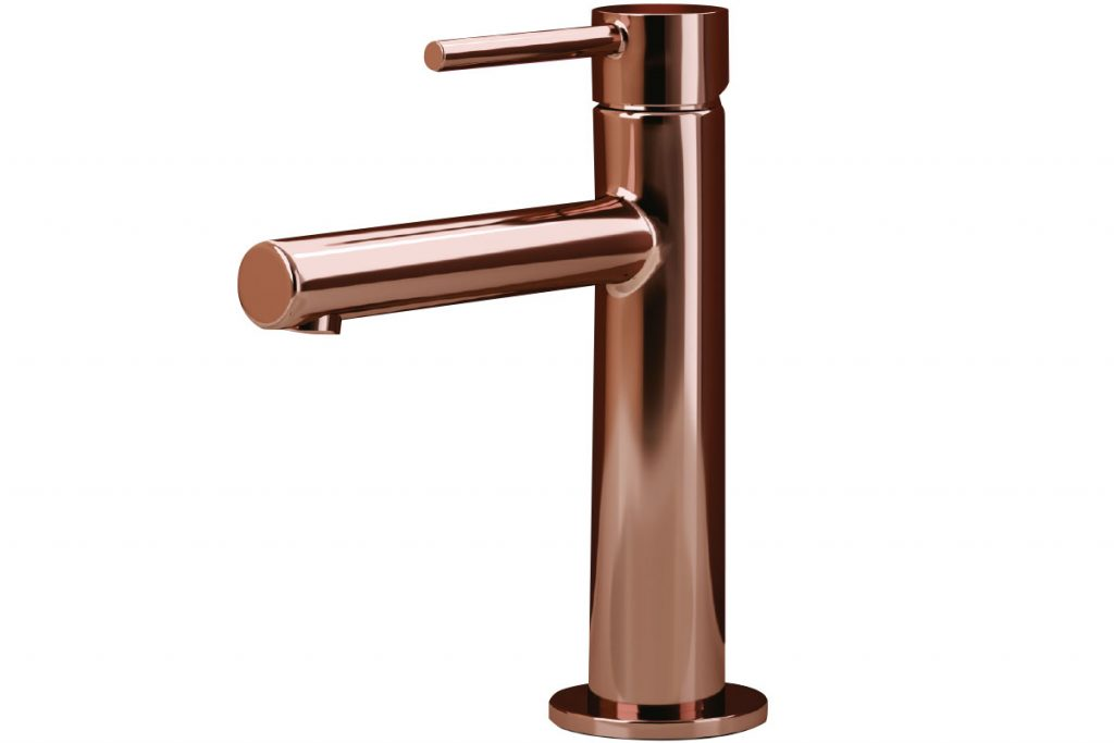 Origin-basin-mixer-in-copper,-from-£229,-Vitra