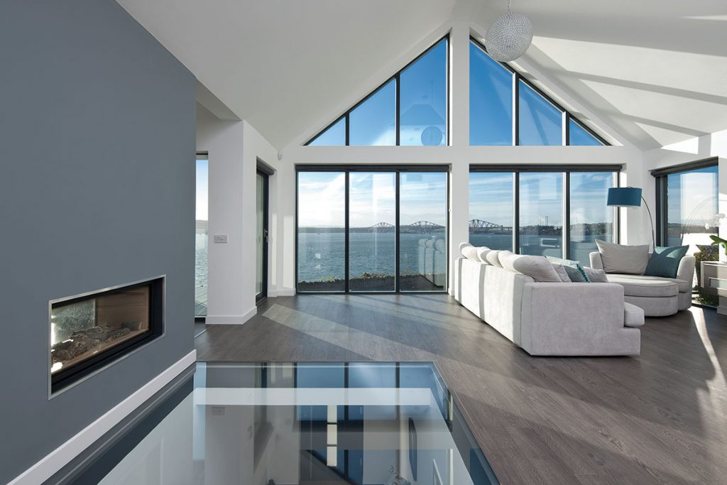open-plan-living-room-with-view-of-forth-bridges