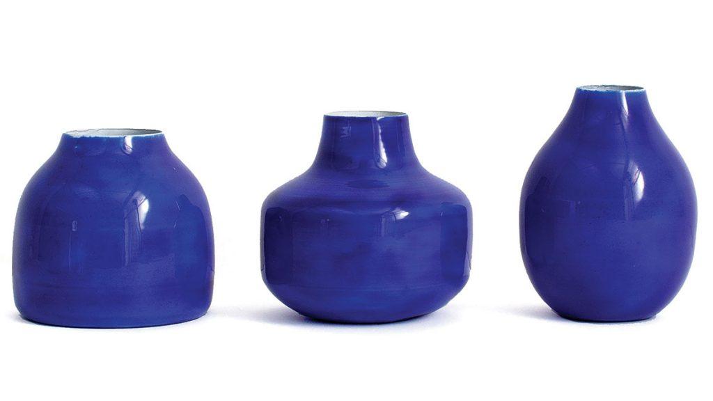 Bohemia-enamel-bud-in-cobalt,-£28-for-a-set-of-three,-Bohemia-Design