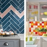 two-different-styles-of-colourful-kitchen-wall-tiles