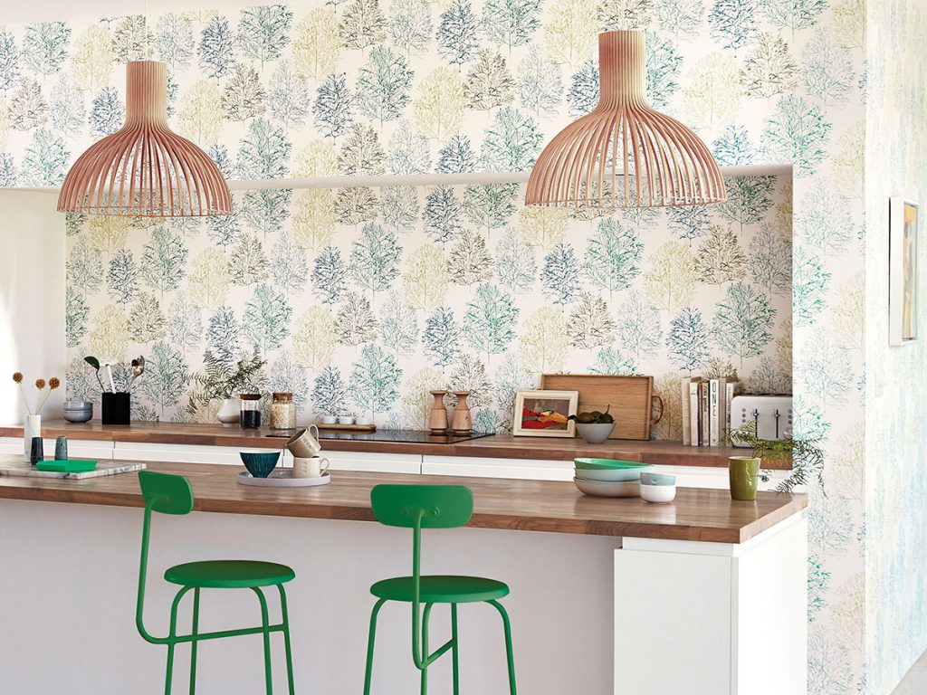Style-Library-kitchen-with-green-chairs