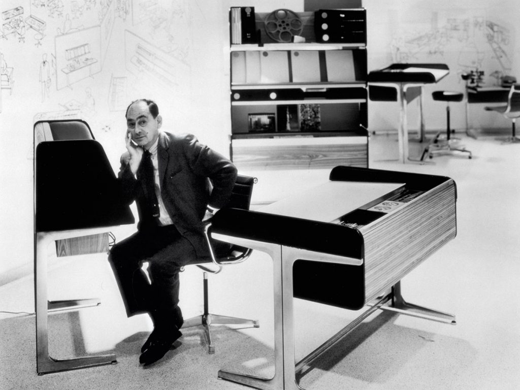 George Nelson, photographed for the Alcoa Design Awards, 1965