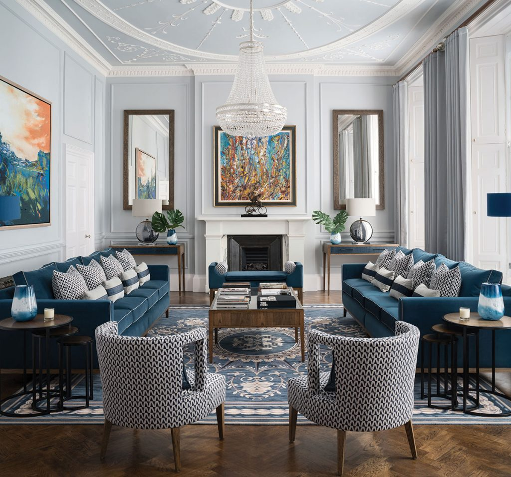 the livingroom edinburgh an a listed building in edinburgh takes inspiration from st petersburg s palace homes 3644