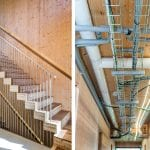 cantilevered-staircase-and-exposed-cabling-in-hall