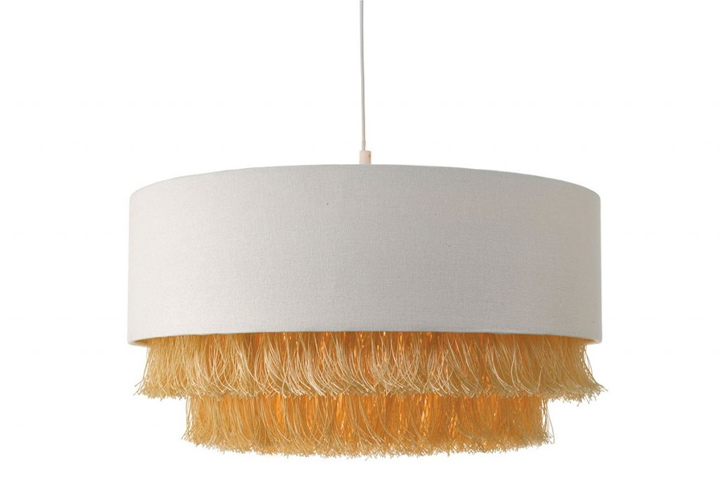 Olgia-easy-fit-pendant-ivory-and-gold,-£94.80,-Där-Lighting