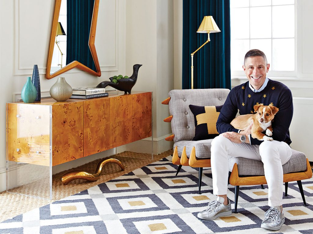 Jonathan-Adler-and-his-dog