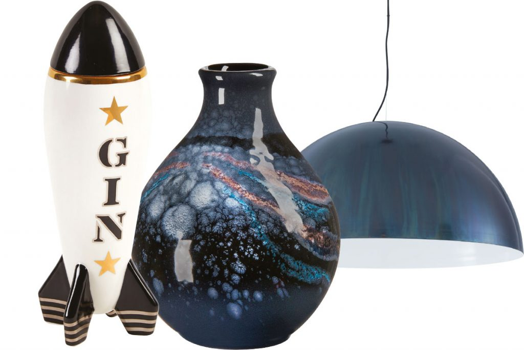 jonathan-adler-gin-decanter-galaxy-vase-and-ligne-roset-light