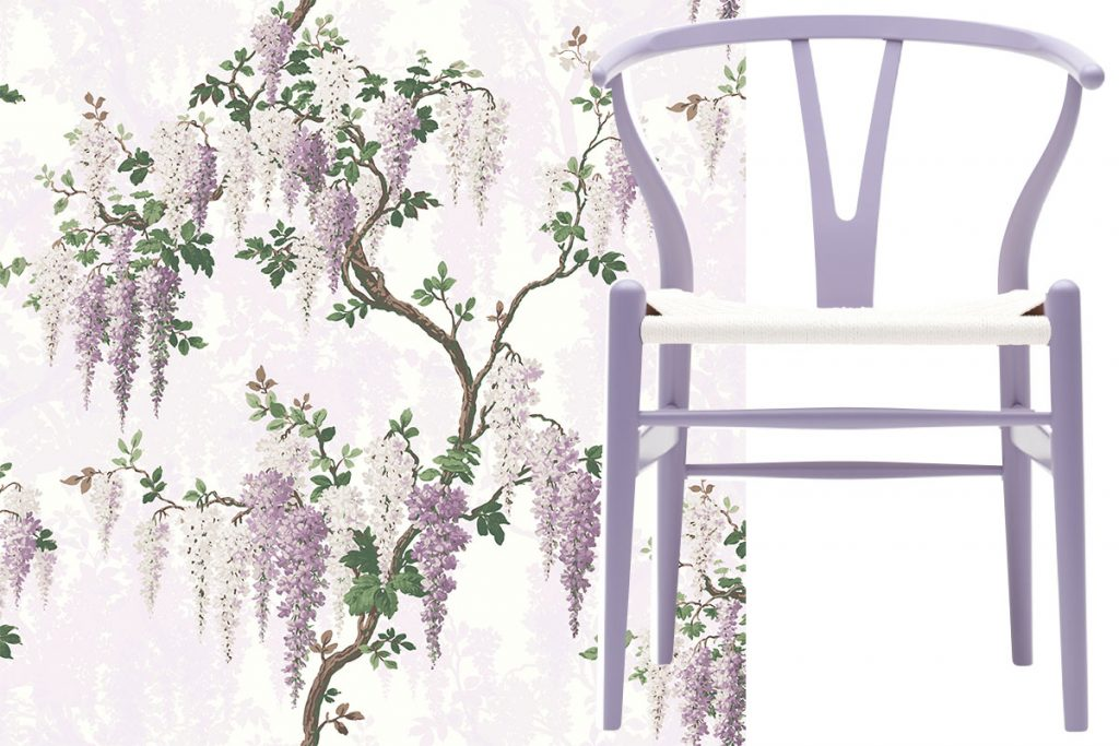 lilac-wallcovering-and-chair