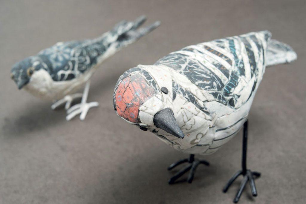 pigeon-scultures