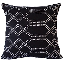 patterned-white-and-black-cushion