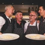 Nick-Nairn,-Kitchens-International's-Gerry-Watson-and-Paul-O'Brien-and-Dougie-Vipond