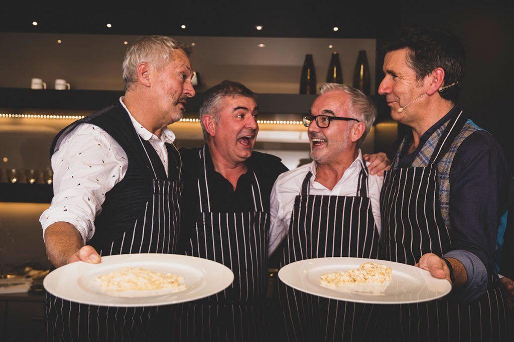 Nick-Nairn,-Kitchens-International's-Gerry-Watson-and-Paul-O'Brien-and-Dougie-Vipond