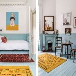 spare-bedroom-with-blue-and-yellow-colour-scheme