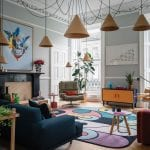 colourful-living-room-with-cabled-light-fixture
