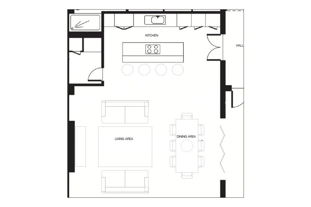 floor-plan-of-the-kitchen