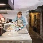 Stef-and-Simon-host-breakfast-at-Kilmartin-Castle