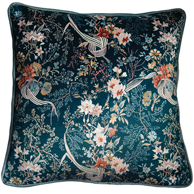 Arley-House-x-V&A-'Floral-Abundance'-Floris-in-Aquamarine-cushion-£75