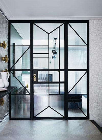 Gunter-crittal-black-metal-and-glass-door