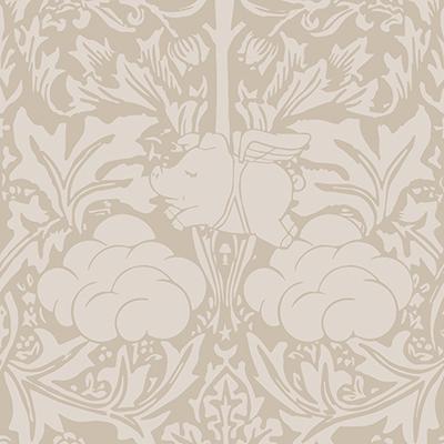 Mineheart-Morris-Dream-Warm-taupe-Wallpaper-£148