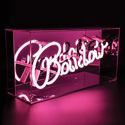 Red-Candy-Neon-Boudoir-Mirrored-Box-Light-Pink-£79