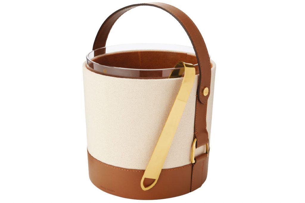 cream-and-brown-ralph-lauren-ice-bucket