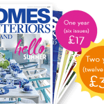 Homes & Interios Scotland 2 years for £30 with discount code SPRING30