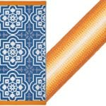 Cuckoo-land-Fab-Hab-Puebla-Outdoor-Rug-in-Blue-made-in-india-Samuel-&-Sons-trimming