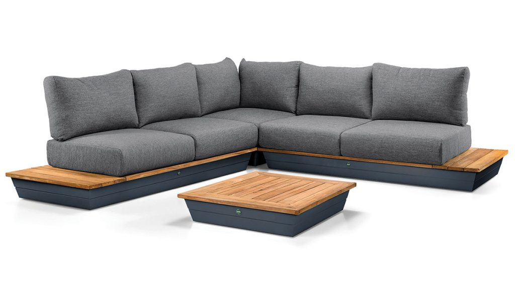 Out-&-Out-Suns-Java-6-seat-luxury-outdoor-lounge-set-in-Matt-Grey,-£3,299