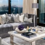 silver-sofa-and-marble-coffee-table-in-living-room