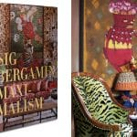 maximalism-book-with-green-leopard-chair-and-bright-painting