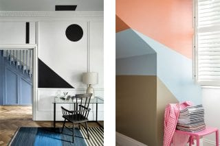 colour block walls