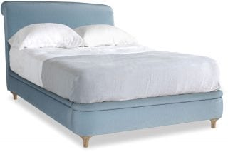 Loaf light blue double bed interiors