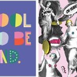 cool to be kind art print mind the gap wallpaper with angels and slogans