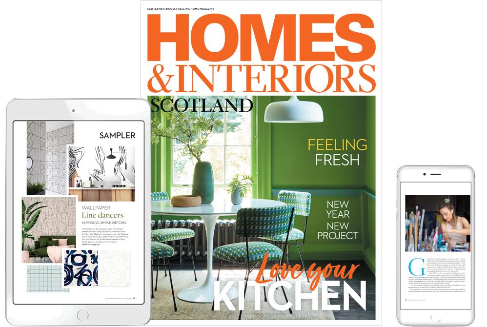 Digital edition of Homes & Interiors Scotland magazine