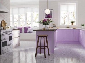 Wren Kitchens' Macaroon collection is pastel perfection