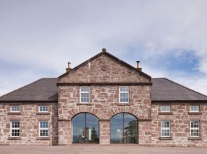 Rethinking the layout has filled this former coach house in Aberdeenshire with light and life