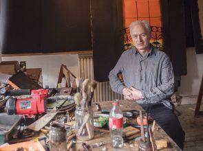 Watercolour artist Hugh Buchanan gives Edinburgh's classical architecture a modern twist in his latest show
