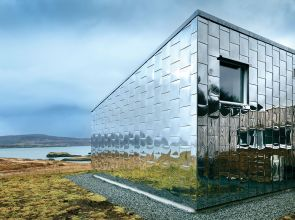 A dazzling home in Skye inspired by London's bold architecture