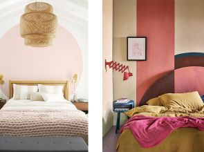 The hottest trend for your walls: colour blocking
