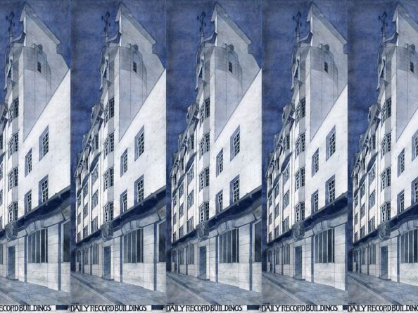 I love this: Charles Rennie Mackintosh's Daily Record building by Nick Ross