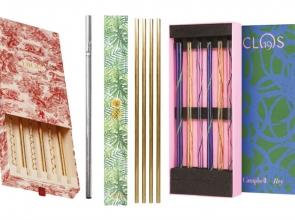Four chic alternatives to plastic straws