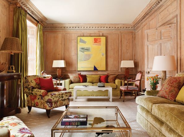 Antiques, Art Deco and modern art are all at home in this cleverly reimagined townhouse