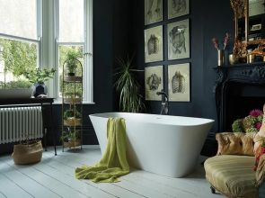 Take the plunge with a freestanding bath